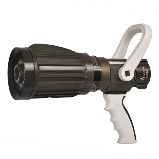 An all-in-one UltraJet firefighter nozzle