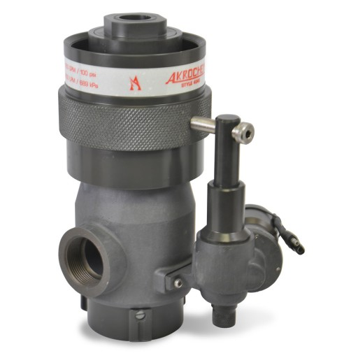 Akrochem Master Stream Nozzle Electric Pattern Actuation