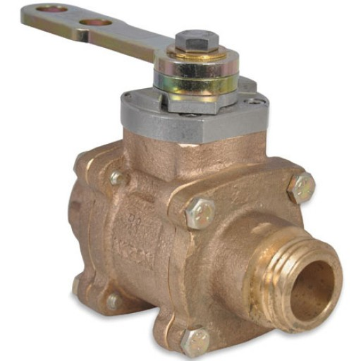 "11/2"" Swing-Out Valve (Body Only)  with polymer ball"